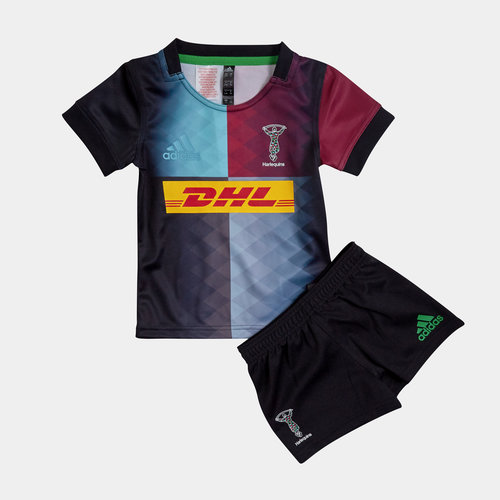 Harlequins 2019/21 Mini Kids Home Replica Rugby Kit
