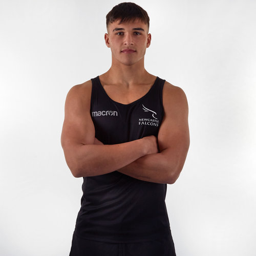 Newcastle Falcons 2019/20 Players Rugby Training Singlet
