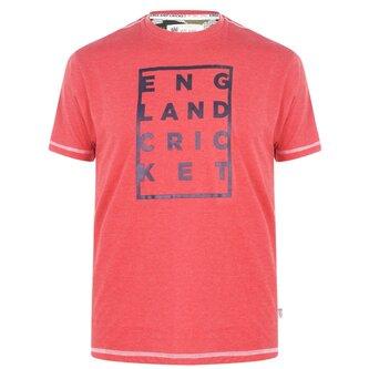 Cricket Box Graphic Replica T Shirt Mens