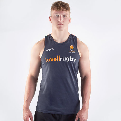 Worcester Warriors 2019/20 Players Rugby Training Singlet