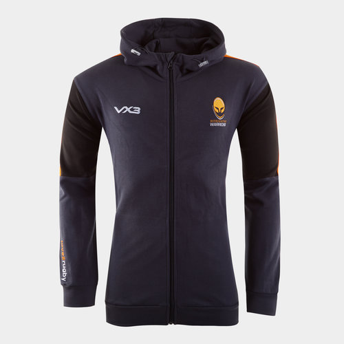 Worcester Warriors 2019/20 Full Zip Hooded Rugby Sweat