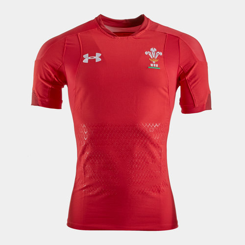 Wales WRU 2018/19 Home Unsponsored S/S Test Match Day Shirt
