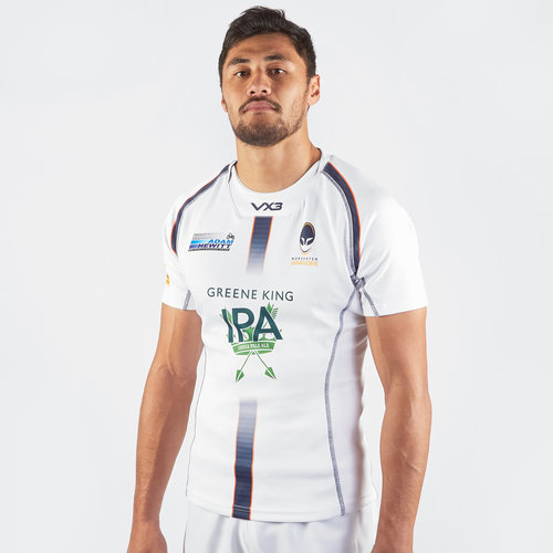 Worcester Warriors 2019/20 Alternate Players S/S Rugby Shirt