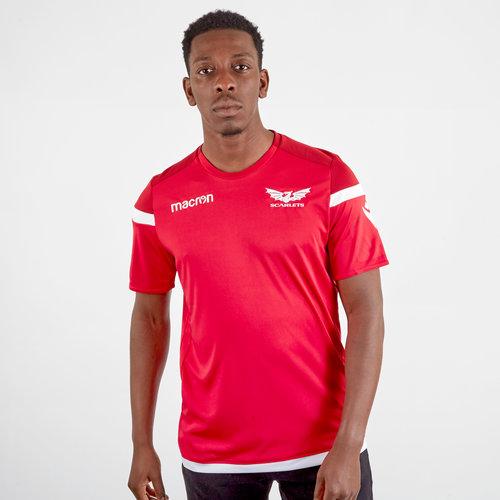 Scarlets 2019/20 Players S/S Rugby Training Shirt