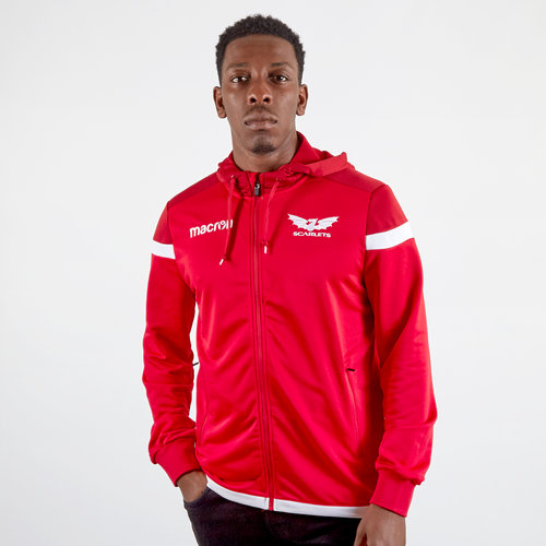 Scarlets 2019/20 Travel Hooded Rugby Sweat