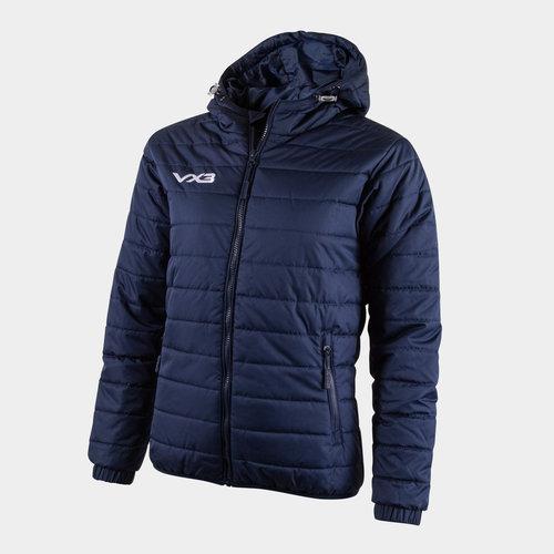 Pro Ladies Full Zip Quilted Jacket