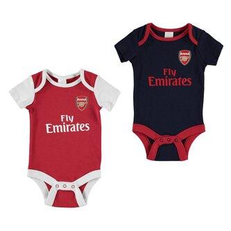 Arsenal Football Body Vest Set Baby Boys