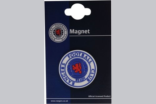 Club PVC Crest Magnet