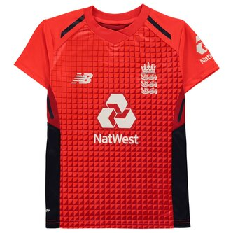England Cricket T20 Shirt 2019 Junior