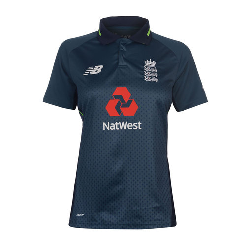 c0a80694 New Balance 2018/19 England Cricket Womens ODI Replica Shirt, £25.00