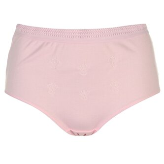 Embroidered Full Briefs Ladies